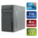 Intel i3 4170 Dual Core 3.7GHz 4GB RAM 1TB Hard Drive DVDRW