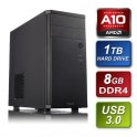 AMD A10-7700K 3.4GHz Quad Core Black Edition 8GB Kingston 1600MHz RAM 1TB Seagate HDD