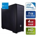 BitFenix - Intel G3260 3.30GHz Dual Core 4GB Kingston RAM 1TB Seagate Hard Drive DVDRW with Windows 10 64bit