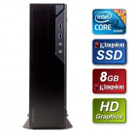 Small Form Factor - Intel i3-6100 3.7GHz Dual Core 8GB Kingston RAM 240GB Kingston SSD DVDRW