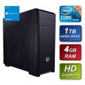 Intel i3 4170 3.70GHz Dual Core 3.7GHz 4GB Kingston RAM 1TB Seagate Hard Drive DVDRW with Windows 10 64bit Home