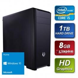i5-4460 Quad Core 3.2GHz 8GB RAM 1TB Hard Drive DVDRW with Windows 10 64bit Home